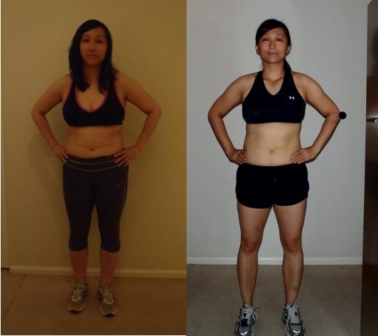 P90X – Before and after photos – secretoptimist
