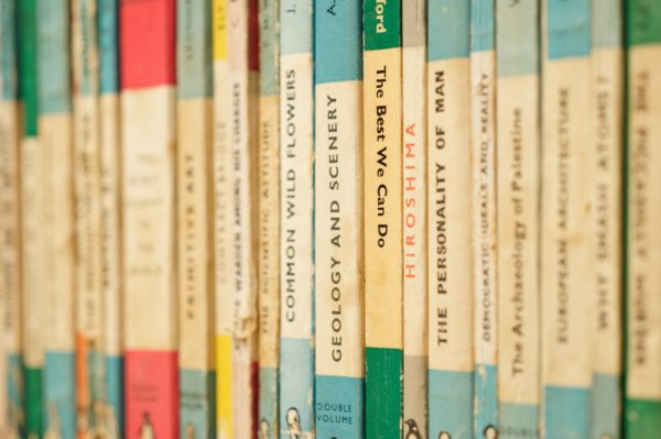 Photo of several vintage Penguin books by Karim Ghantous on Unsplash
