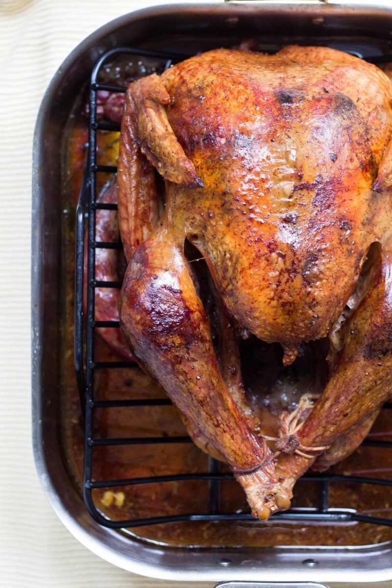 Photo of a roast turkey by Alison Marras on Unsplash